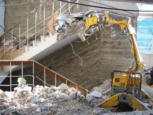 Barton Drilling brokk demolition project