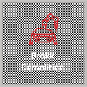 Barton Drilling brokk demolition
