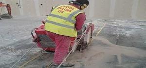 Barton floor sawing